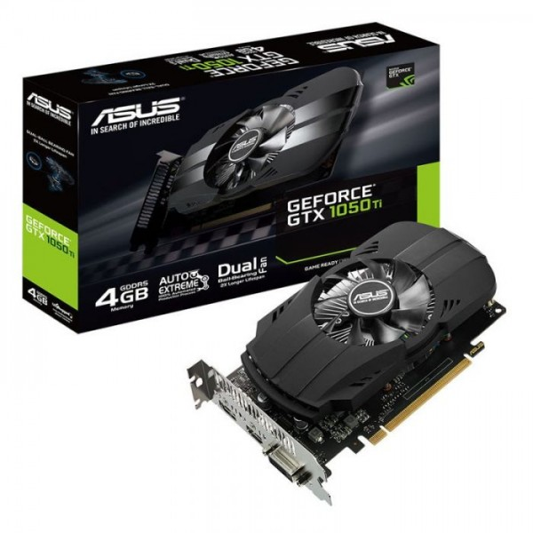 ASUS GeForce GTX 1050 Ti Phoenix 4GB GDDR5 (PH-GTX1050TI-4G)