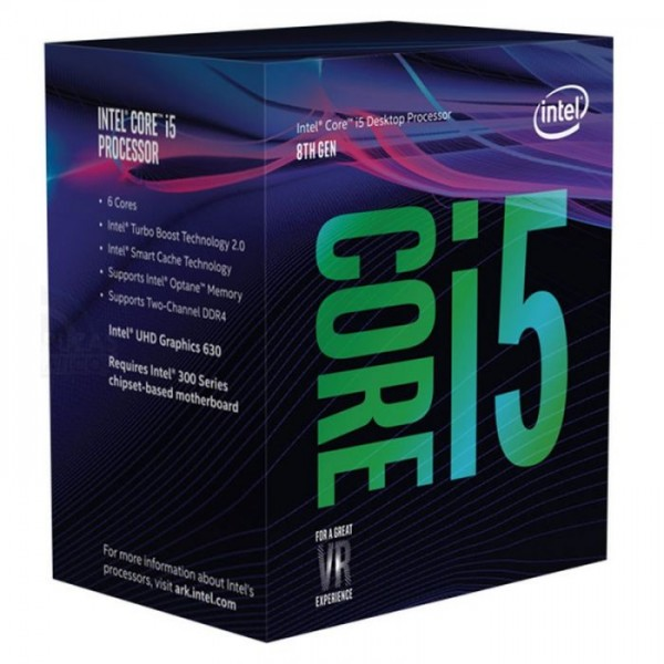 Intel Core i5-8500 BOX procesor, Coffee Lake