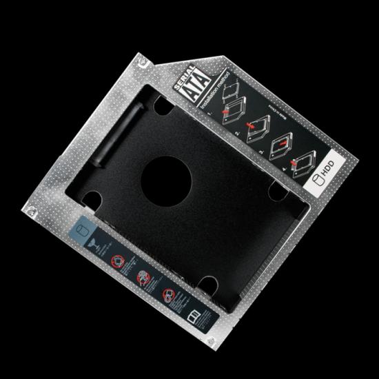 Adapter SSD/HDD v 12,7mm DVD slot, SATA, LogiLink (AD0016)