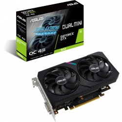 ASUS GeForce GTX 1650 DUAL MINI 4GB GDDR6 (DUAL-GTX1650-O4GD6-MINI)