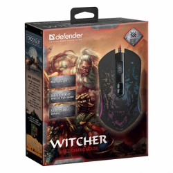 Defender Witcher GM-990, RGB, USB, žična