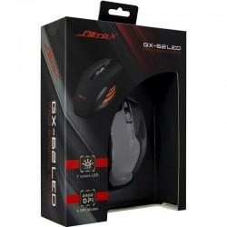 INTER-TECH Nitrox GX-62 RGB LED USB žična optična