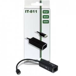 INTER-TECH ARGUS IT-811 Gigabit LAN USB Type C mrežni adapter