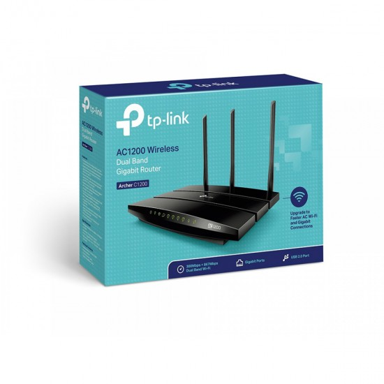 TP-LINK Archer C1200 AC1200 brezžični Dual Band Gigabit usmerjevalnik