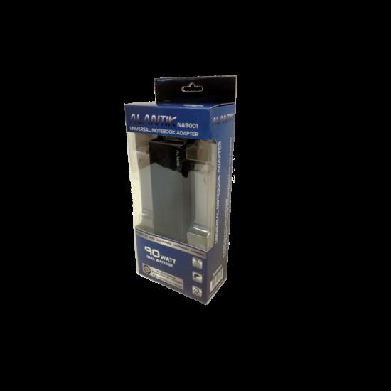 Polnilec za prenosnike, univerzalen, 90W, ALANTIK NA9001