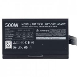 Cooler Master MWE 500 WHITE 230V - V2 500W 80 Plus Standard ATX (MPE-5001-ACABW-EU) napajalnik