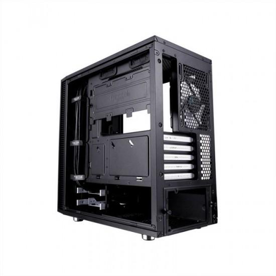 FRACTAL DESIGN Define Mini C TG microATX okno črno ohišje