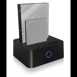 "Icybox IB-123CL-U3 docking & clone postaja za 2,5"" in 3,5"" diske"
