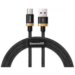 Kabel BASEUS Gold & Black USB Type-C Quick charge, 40W, 2M (CATZH-BV1)