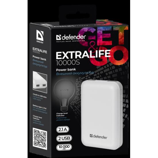 Polnilna baterija Defender ExtraLife 10000S