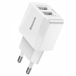 Mini polnilec BASEUS Dual-U (CCALL-MN02)