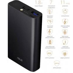 Prenosna baterija ASUS ZenPower 10050C (QC), Triple port, Quick Charge 3.0, USB-C, črna