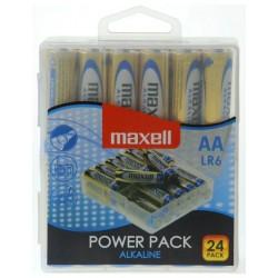 Maxell baterija AA (LR6), 24 kos, alkalne
