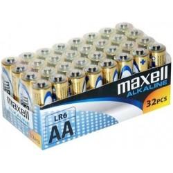 Maxell baterija AA (LR6), 32 kos, alkalne