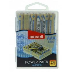 Maxell baterija AAA (LR03), 24 kos, alkalne