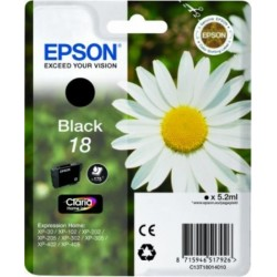 Epson kartuša T1801 BK