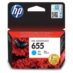 HP kartuša 655 Cyan (CZ110AE)