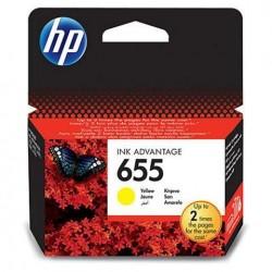 HP kartuša 655 Yellow (CZ112AE)