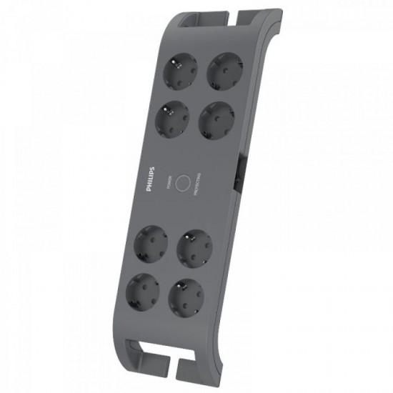 Philips prenapetostna zaščita z 8 vtičnicami (SPN3180A/58)