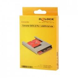 Adapter HDD SATA - mSATA z okvirjem 6cm Delock (61892)