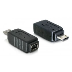 Delock adapter USB mini to USB mikro-B (M) 5-pin