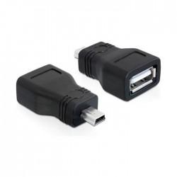 Adapter USB mini M 5-pin - USB-A Ž Delock (65277)