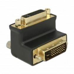 Adapter DVI 24+1 - DVI 24+5 kotni 90°