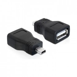 Adapter USB mini M 5-pin - USB-A Ž Delock (65277)