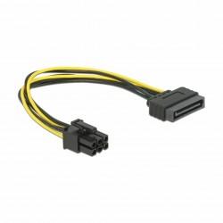 Delock adapter SATA M - 6pin za grafične kartice PCI-express 0,2m