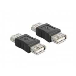 Delock adapter USB-A (Ž) to USB-A (Ž)