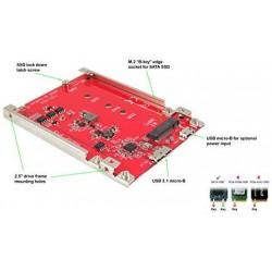 Adapter SSD, iz M.2 SATA v USB 3.1, Lycom DT-127