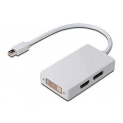 Digitus adapter Mini DisplayPort to DVI/HDMI/DP