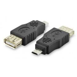 Digitus adapter USB mikro-B (M) 5-pin to USB-A (Ž)