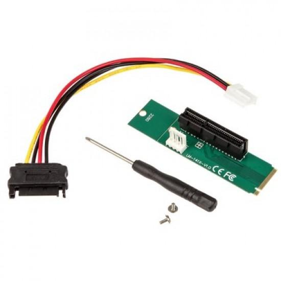 Kolink M.2 to PCIe 4x / 1x Mining- / Rendering-Adapter
