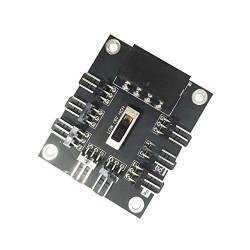 SATA/MOLEX to 8x 3 PIN Multi spliter adapter