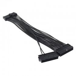 Adapter podaljšek 24-pin ATX na 2x 24-pin ATX, 0.3m