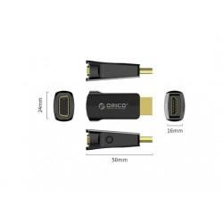 Adapter HDMI v VGA + 3,5 mm, ORICO XD-HLFV