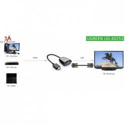 Ugreen HDMI to VGA Converter (40253)