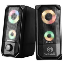 Marvo SG-265 Stereo 2.0 Led Gaming zvočniki